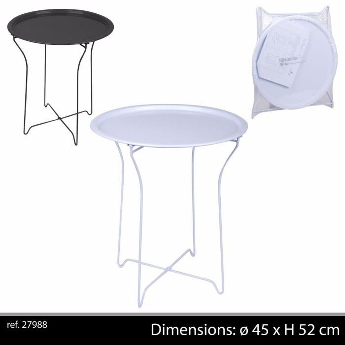 Best table basse de jardin blanche pictures awesome - Table basse classique ...