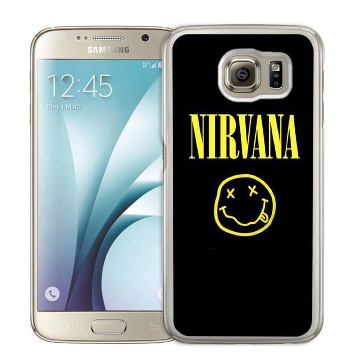 coque iphone 8 plus nirvana