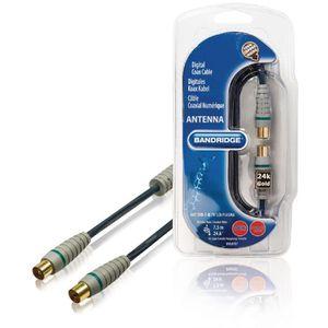 ANTENNE RATEAU Câble d'antenne Numérique Écran Plat 7.5 m