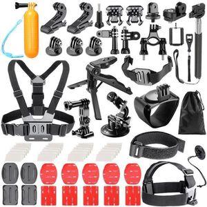 PACK CAMERA SPORT Pour  Kit d'Accessoires de Caméra d'Action pour Go