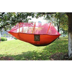 MOUSTIQUAIRE CAMPING 2 personnes parachute hamac double largeur solide