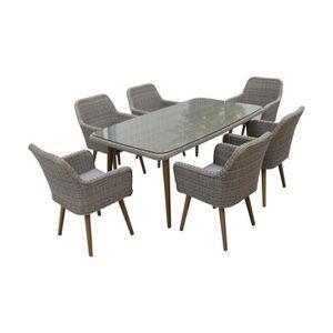 TABLE DE JARDIN  Table de jardin 180 x 100 cm - CUBA