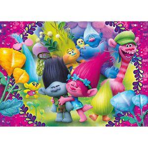 PUZZLE Puzzle 60 pièces : Les Trolls aille Unique Coloris