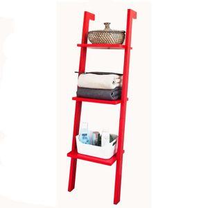 etagere echelle rouge achat vente pas cher. Black Bedroom Furniture Sets. Home Design Ideas