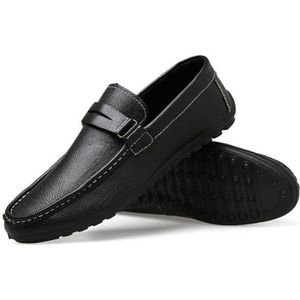 MOCASSIN Casual Driving Chaussures Homme Simple Mocassins N