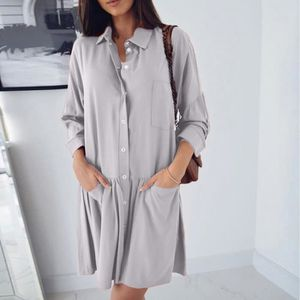 ROBE Femmes Robe Mode manches longues Automne Casual lâ ... 26e02b897ef