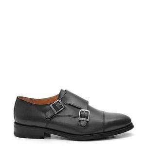 MOLIÈRE Chaussures en cuir noir Tawi - Semelle en cuir -