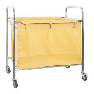 les chariots a linge sur roulettes achat vente pas cher. Black Bedroom Furniture Sets. Home Design Ideas