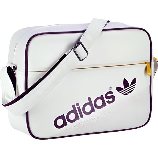 Achat Perf Blanc Airliner Besace Adidas Vente Original qxpXWC
