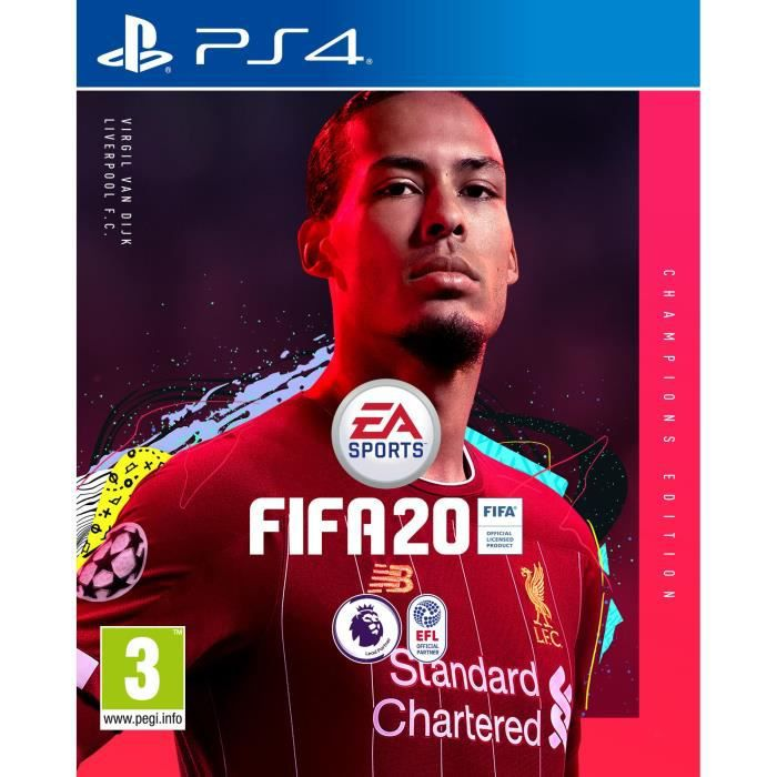 FIFA 20 Edition Champions (Import Nordique) Jeu PS4