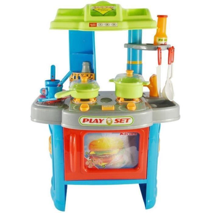 cuisine dinette cuisini re en plastique pour enfants jeux jouet moderne 0101010 achat vente. Black Bedroom Furniture Sets. Home Design Ideas