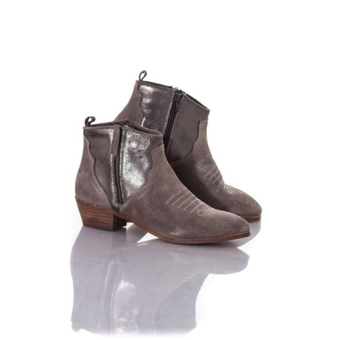 Kaporal Shoes Boots - bottes Nayade gris