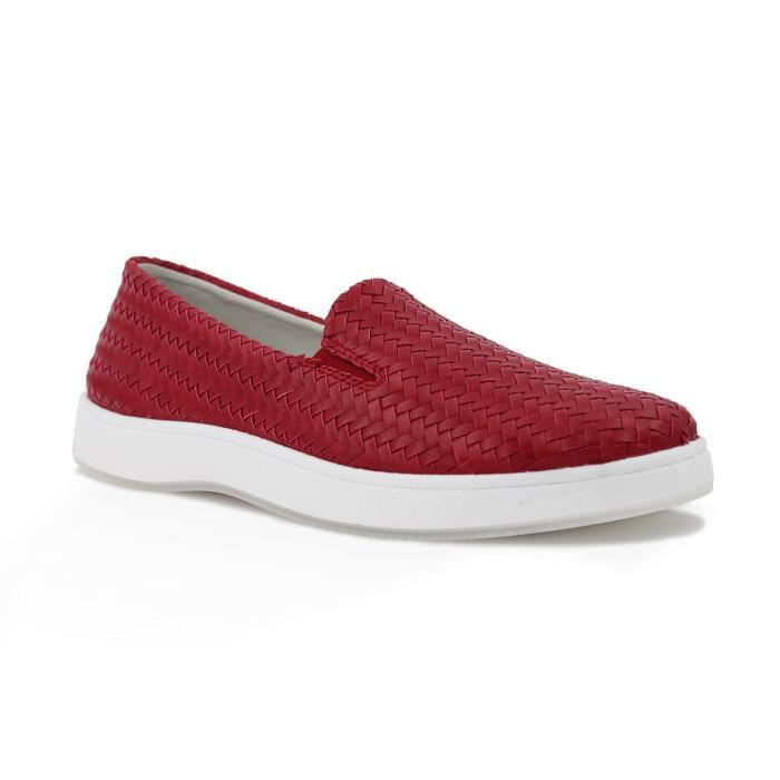 Claire Weave Low Top Slip-on Sneaker Mode R78LV Taille-40 1-2