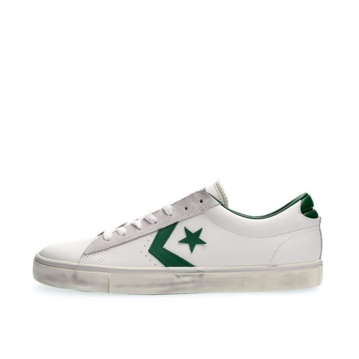 CONVERSE SNEAKERS Homme WHITE GREEN, 42.5