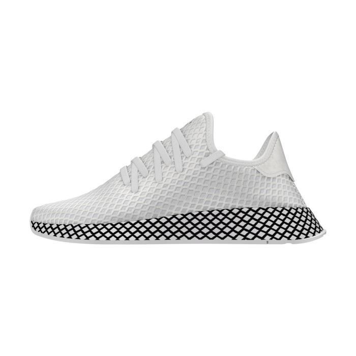 Blanc Runner Basket B41767 Adidas Originals Achat Deerupt OkiZTuwPX