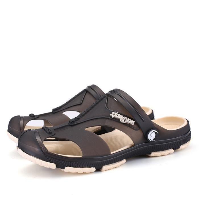 Étudiant Slip-on Chaussures Sandales sport d'homme