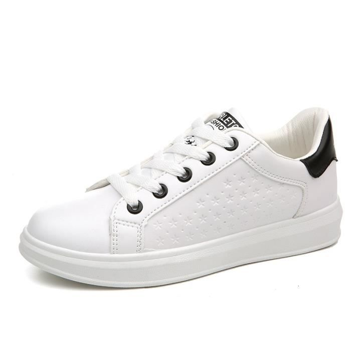 chaussures planche petites Chaussures sangle étudiants chaussures chaussures Sneakers pure Casual Shoes blanches Femmes chaussures EqSHaXwWW