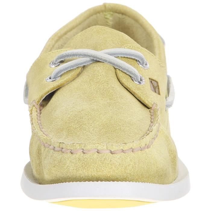 Sperry Top-Sider A - o Deux yeux Chaussures bateau FTQSC Taille-36 1-2 hOLme
