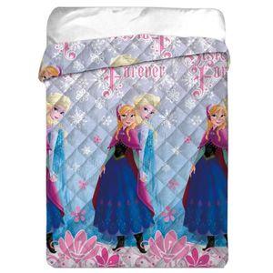 couette imprimee reine des neiges achat vente couette imprimee reine des neiges pas cher. Black Bedroom Furniture Sets. Home Design Ideas