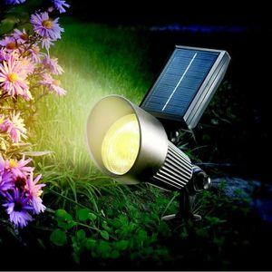 SPOT D'EXTÉRIEUR  Spot solaire couleur changeante ou fixe