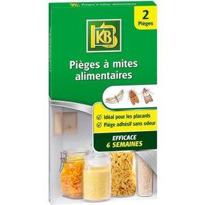 PIÈGE NUISIBLE JARDIN KB 2 Pièges à Mites Alimentaires