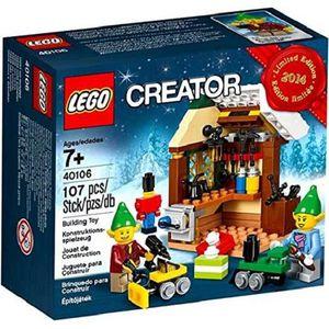 ASSEMBLAGE CONSTRUCTION LEGO 40106 L'atelier de jouets