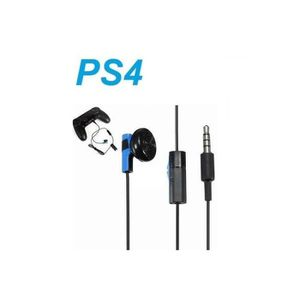 CÂBLE JEUX VIDEO OFFICIAL SONY PS4 PLAYSTATION 4 - MONO IN-EAR HEAD