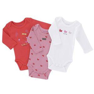 BODY Lot de 3 bodies bébé Fille SUCRE D'ORGE - manches