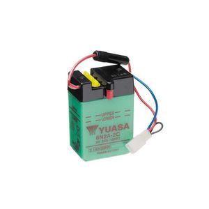 BATTERIE VÉHICULE Batterie YUASA 6N2A-2C conventionnelle