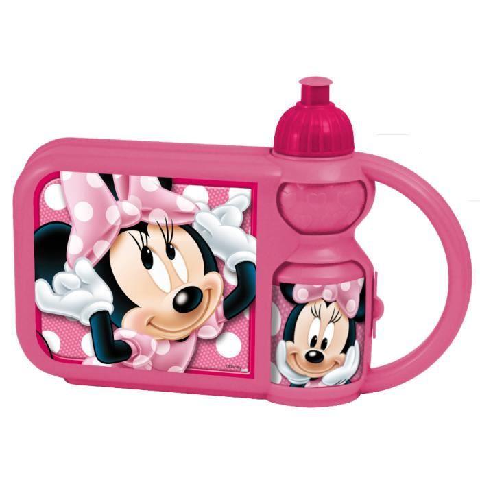 Minnie Set gourde Boîte goûter