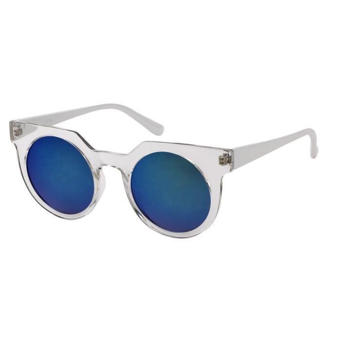 lunette de soleil style Rétrosuperfuture vintage-7867 transparent, verre  gris 588dfac3c1f9