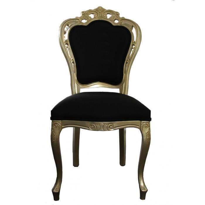 Casa Padrino Luxe Baroque Chaise Diner En Or Noir