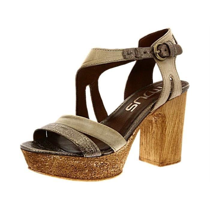 Mjus 218003 Noir - Livraison Gratuite avec  - Chaussures Sandale Femme