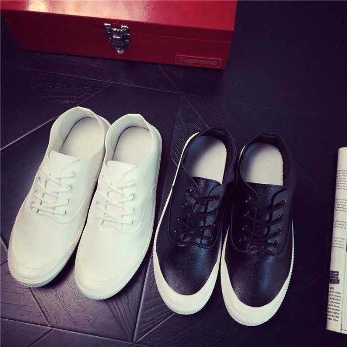 cuir d'été Chaussures homme Mode de Hommes toile Chaussures Mocassins Homme zAXzqTgnW