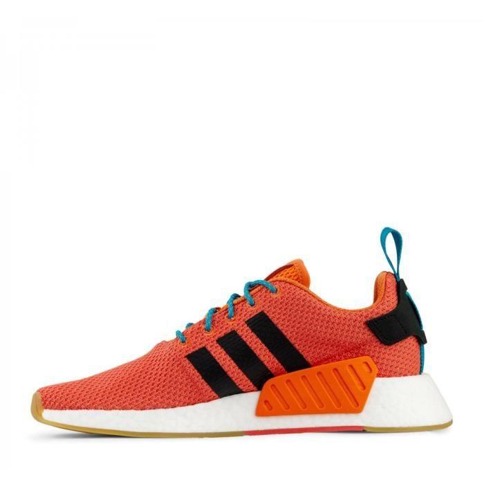 6c1c1399c Basket adidas Originals NMD R2 Summer - CQ3081 Orange Orange - Achat ...