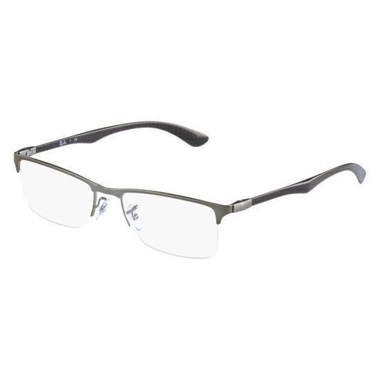 d6f1292d52e4e7 Lunettes de vue Ray Ban RX8413 -2620 Argent Argent - Achat   Vente lunettes  de vue Lunettes de vue Ray Ban R... Homme - Soldes  dès le 9 janvier !  Cdiscoun