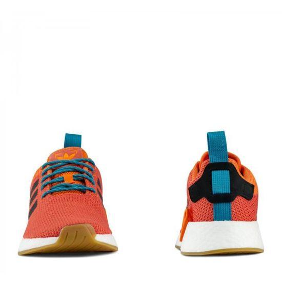 aaa8848fc Basket adidas Originals NMD R2 Summer - CQ3081 Orange Orange - Achat   Vente  basket - Cdiscount