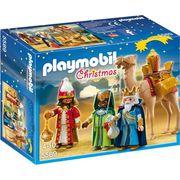 UNIVERS MINIATURE PLAYMOBIL - 5589 - Rois Mages avec Cadeaux