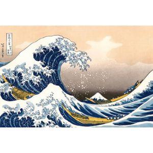 OBJET DÉCORATION MURALE Katsushika Hokusai Papier Peint Photo/Poster Au…