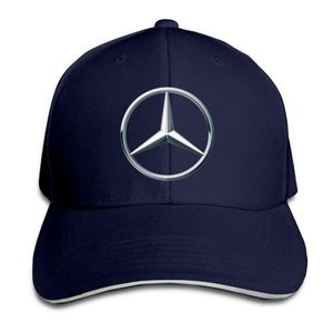 CASQUETTE Mercedes Benz Logo Snapback chapeaux hiver