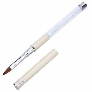 BROSSE A ONGLES 1pc UV Gel Pen Nail Art Pen Sculpture Brosses poig