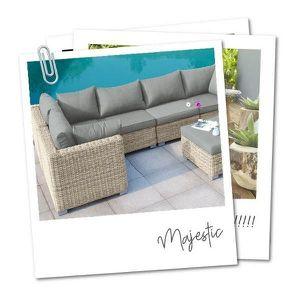 Salon de jardin modulable Majestic - Achat / Vente salon de ...