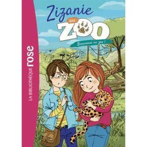 Livre 9 -12 ANS Livre - zizanie au zoo T.1 ; bienvenue au zoo !