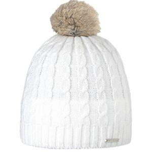 Bonnet blanc pompon fourrure véritable Barts Mo… - Achat   Vente ... 367302efebd