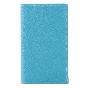 TOUT EN UN Portefeuille, Tout en un Cuir Femme (Bleu Turquois