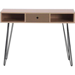 MEUBLE INFORMATIQUE Table d'appoint console design scandinave graphiqu