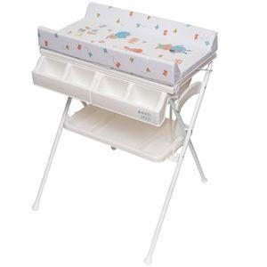 TABLE À LANGER ib style® Table à langer pliable  avec baignoire M