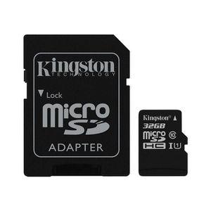 CARTE MÉMOIRE Kingston Carte mémoire MICRO SDXC TF 32 go compati