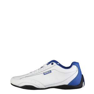 BASKET Sparco - Zandvoort chaussures blanc, bleu royal