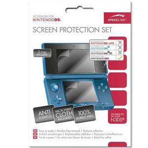 PROTECTION ECRAN JEUX Kit Film Protection Ecrans - Console Nintendo 3DS